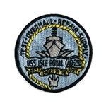 USS ISLE ROYALE Button