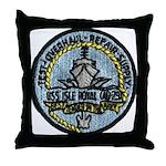 USS ISLE ROYALE Throw Pillow