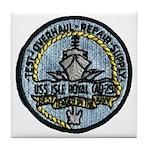USS ISLE ROYALE Tile Coaster