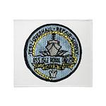 USS ISLE ROYALE Throw Blanket