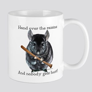 Chin Raisin Mugs