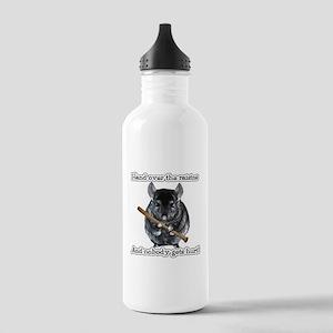 ChinRaisonsdark1 Stainless Water Bottle 1.0L