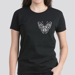 BUTTERFLY 3 Women's Dark T-Shirt