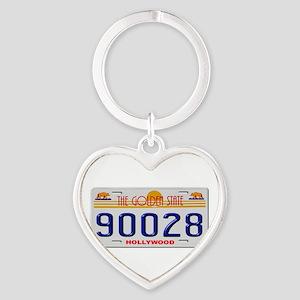 Hollywood 90028 Keychains