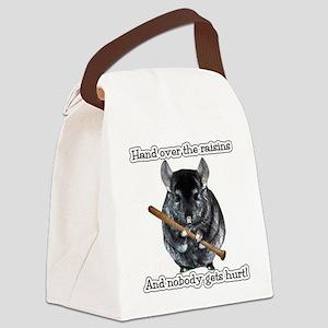ChinRaisonsdark1 Canvas Lunch Bag