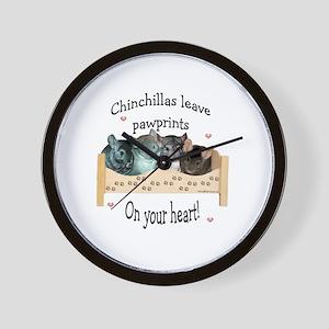 Chinpawprints Wall Clock
