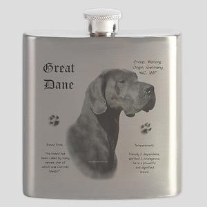 DaneHistoryBluenatural Flask