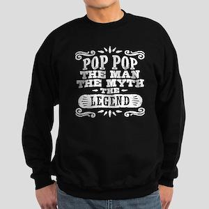 Funny Pop Pop Sweatshirt (dark)
