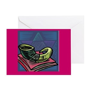 Jewish new year greeting cards cafepress m4hsunfo