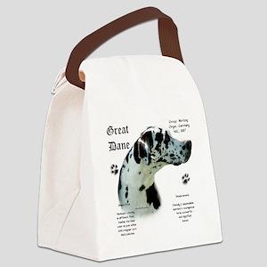 DaneHistoryHarlequinnatural Canvas Lunch Bag