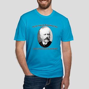 Tchaikovsky: Work Men's Fitted T-Shirt (dark)