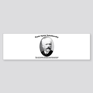 Tchaikovsky: Work Sticker (Bumper)