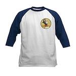 Tigerman Kids Baseball Jersey,Logo-Front, Art-Back