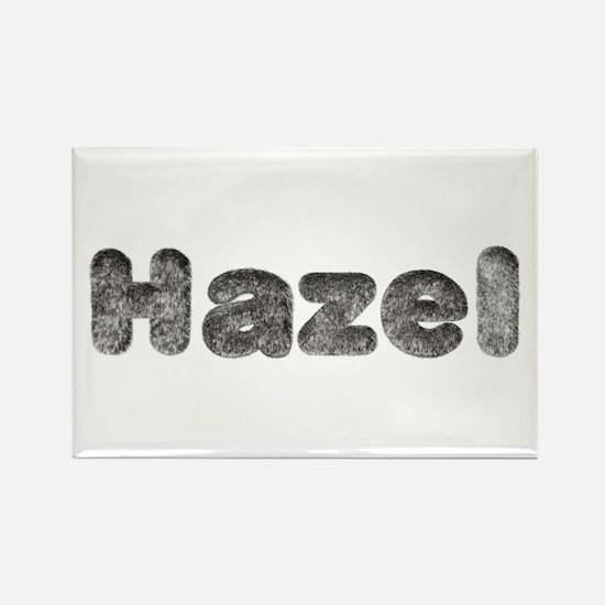 Hazel Wolf Rectangle Magnet