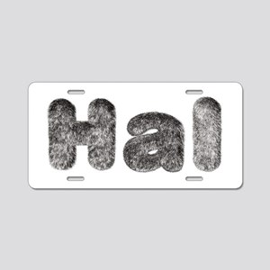 Hal Wolf Aluminum License Plate