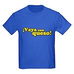 Vaya Con Queso Kids Dark T-Shirt