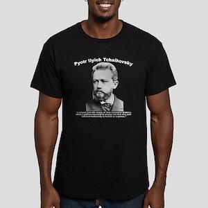 Tchaikovsky: Brahms Men's Fitted T-Shirt (dark)