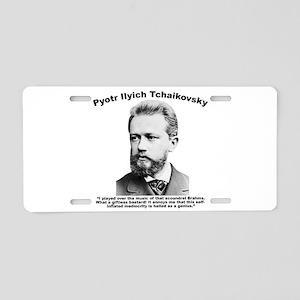 Tchaikovsky: Brahms Aluminum License Plate