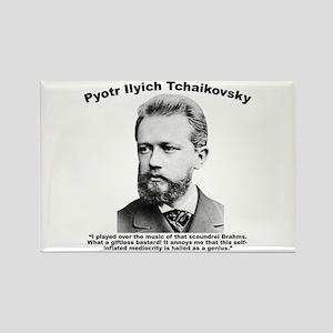 Tchaikovsky: Brahms Rectangle Magnet