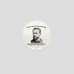 Tchaikovsky: Brahms Mini Button