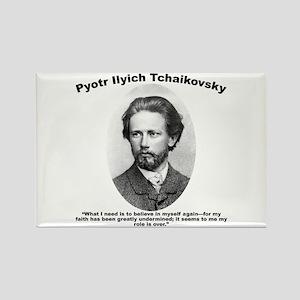 Tchaikovsky: Believe Rectangle Magnet