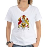 Troyte Family Crest Women's V-Neck T-Shirt