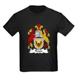 Troyte Family Crest Kids Dark T-Shirt