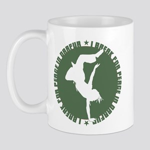 I Break for Peace in Darfur Mug