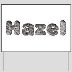 Hazel Wolf Yard Sign