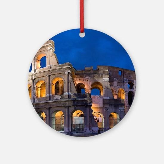 Coliseum Ornament (Round)