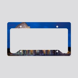 Coliseum License Plate Holder