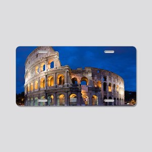 Coliseum Aluminum License Plate