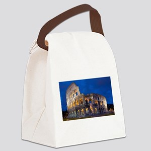 Coliseum Canvas Lunch Bag