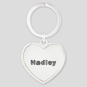 Hadley Wolf Heart Keychain