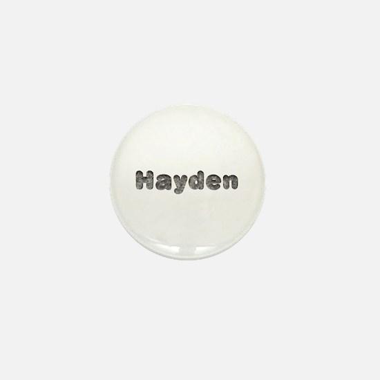 Hayden Wolf Mini Button