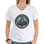 USS ISLE ROYALE Women's V-Neck T-Shirt