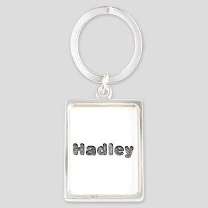 Hadley Wolf Portrait Keychain
