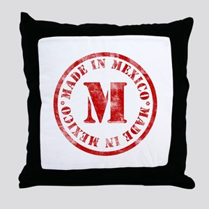 Made in Mexico Throw Pillow