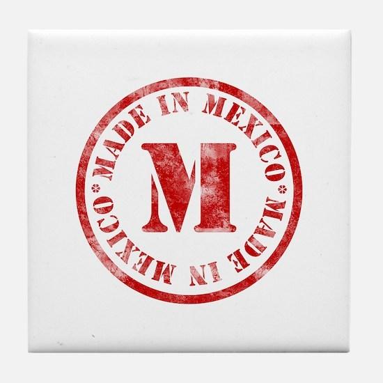 Made in Mexico Tile Coaster