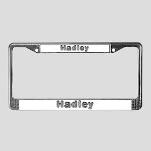 Hadley Wolf License Plate Frame