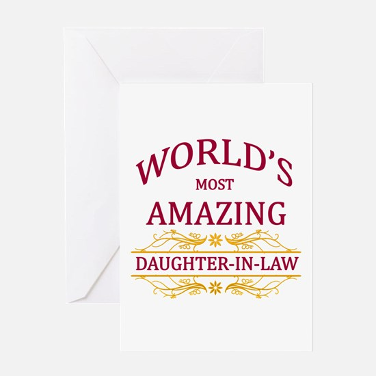 Daughter-In-Law Greeting Cards