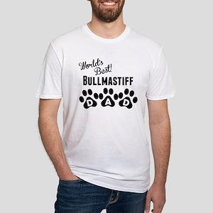 Worlds Best Bullmastiff Dad T-Shirt