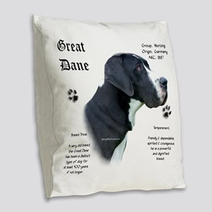 DaneHistoryMantlenatural Burlap Throw Pillow