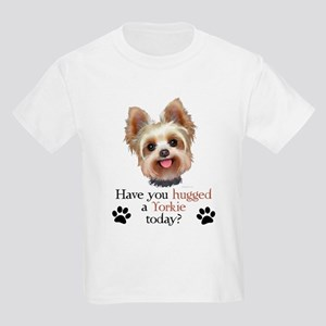 Yorkie Hug Kids Light T-Shirt