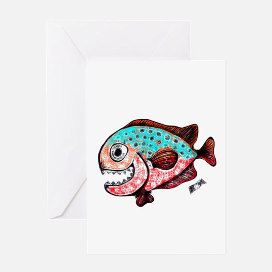 chompers Greeting Cards