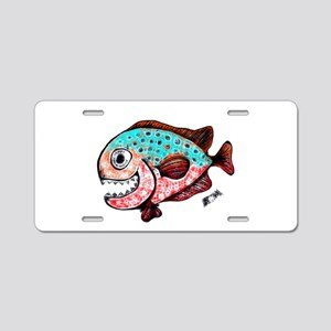 chompers Aluminum License Plate