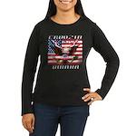 Cruising Omaha Women's Long Sleeve Dark T-Shirt
