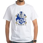 Troutback Family Crest White T-Shirt