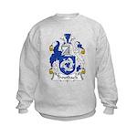 Troutback Family Crest Kids Sweatshirt