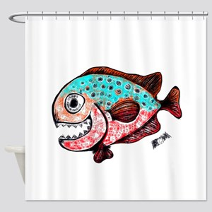 chompers Shower Curtain